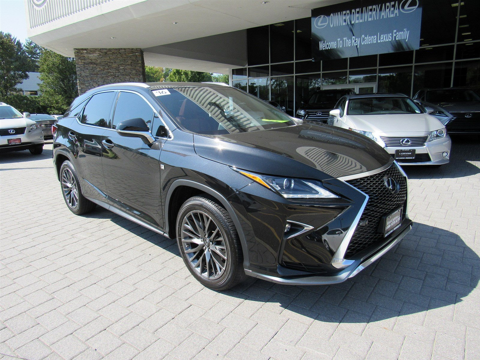 certified pre-owned 2016 lexus rx 350 f sport sport utility in