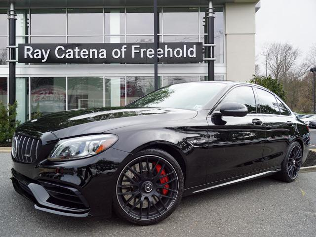 Pre-Owned 2019 Mercedes Benz C 63 AMG C 63 S