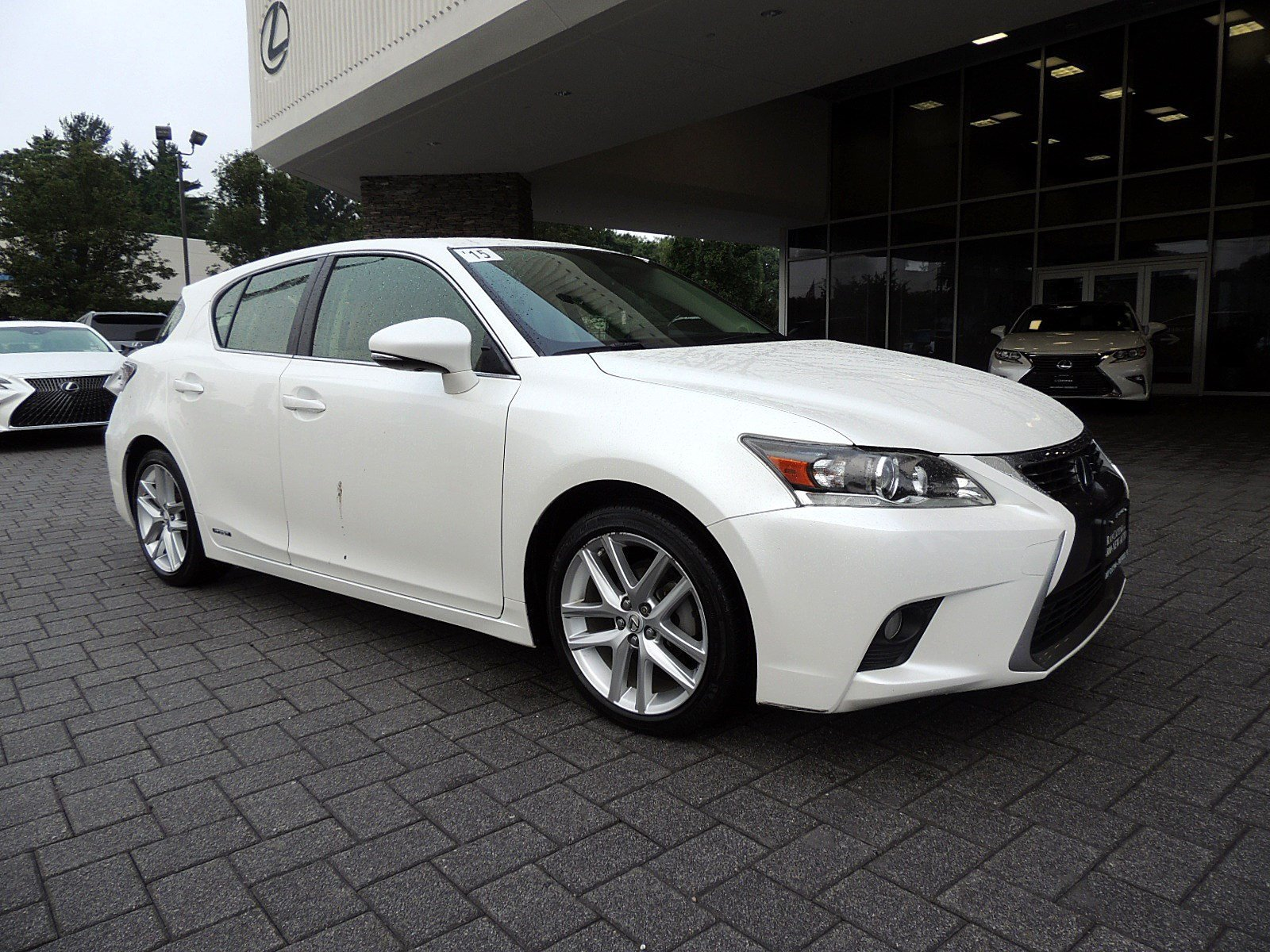 Certified Pre Owned 2015 Lexus CT 200h 4D Hatchback in Edison Z5462