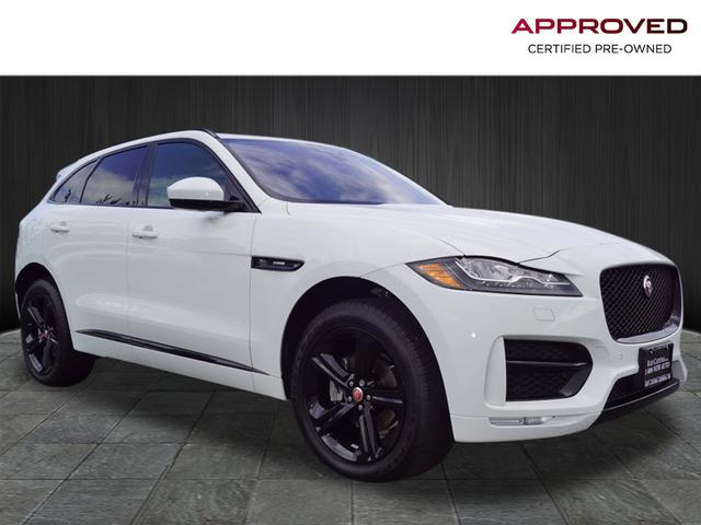 Certified Pre Owned 2018 Jaguar F Pace 20d R Sport