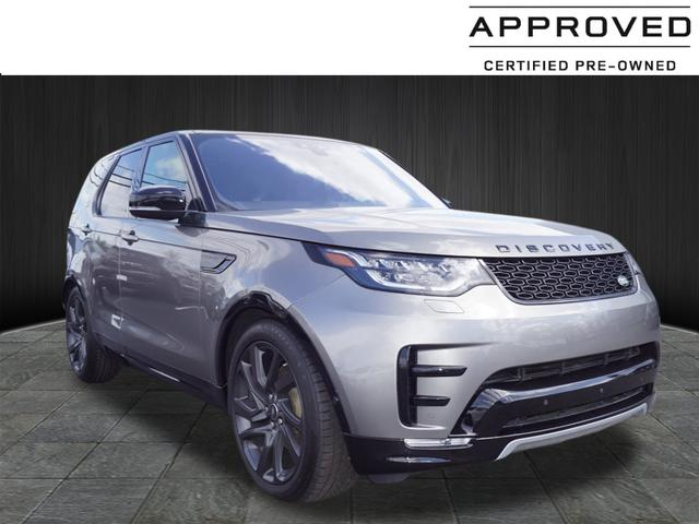 Certified Pre Owned 2017 Land Rover Discovery Hse Luxury