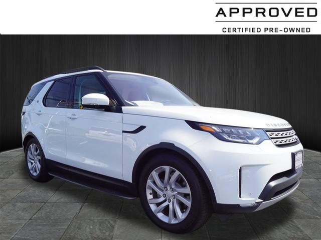 Certified Pre Owned 2017 Land Rover Discovery Hse