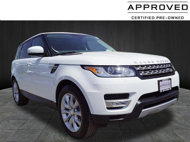 Certified Pre Owned 2015 Land Rover Range Rover Sport 3 0