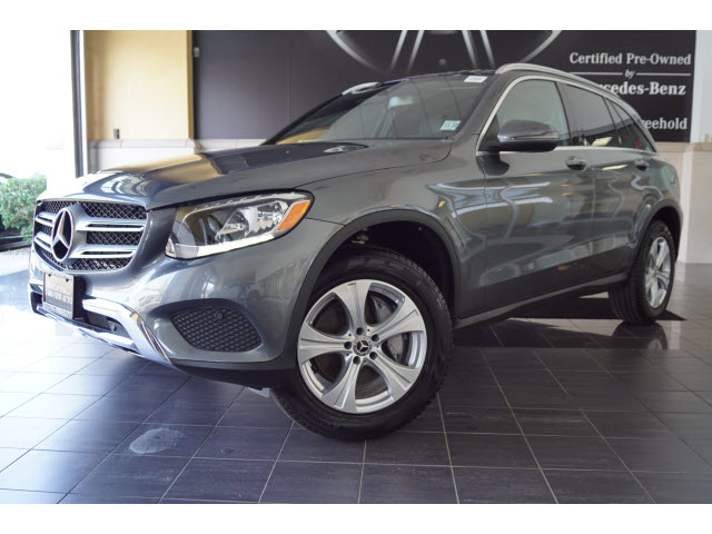 pre-owned 2018 mercedes-benz glc glc 300 4matic® awd glc 300 4matic