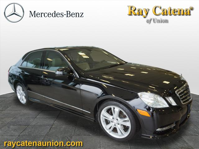 Certified pre owned 2013 mercedes benz e class e 350 sport for Ray catena mercedes benz