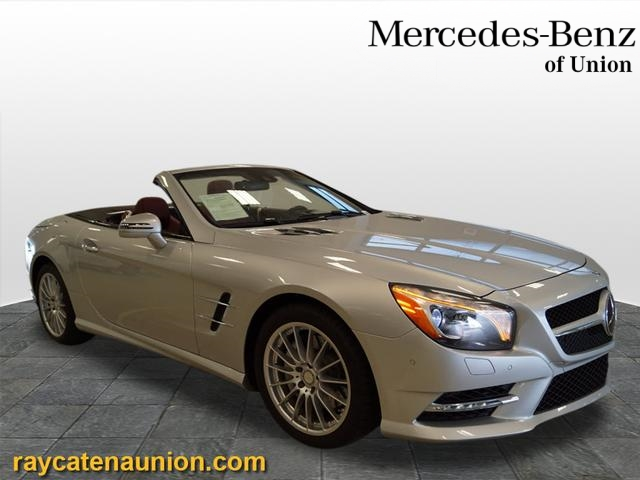 Certified Pre Owned 2014 Mercedes Benz SL Class SL 550