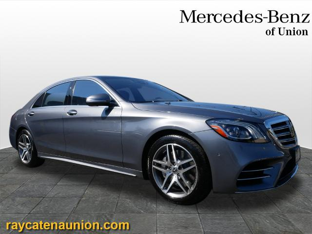 Certified Pre-Owned 2018 Mercedes-Benz S-Class S 450 4MATIC®