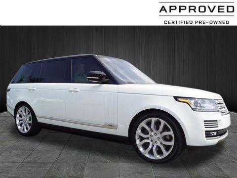 Certified Pre-Owned 2017 Land Rover Range Rover Supercharged LWB