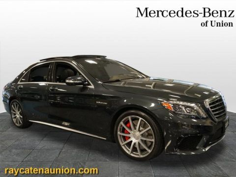 Certified Pre-Owned 2015 Mercedes-Benz S-Class S 63 AMG®
