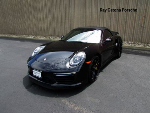 Certified Pre-Owned 2017 Porsche 911 Turbo S Cabriolet